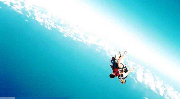 Voando pelos céus do Hawaii…