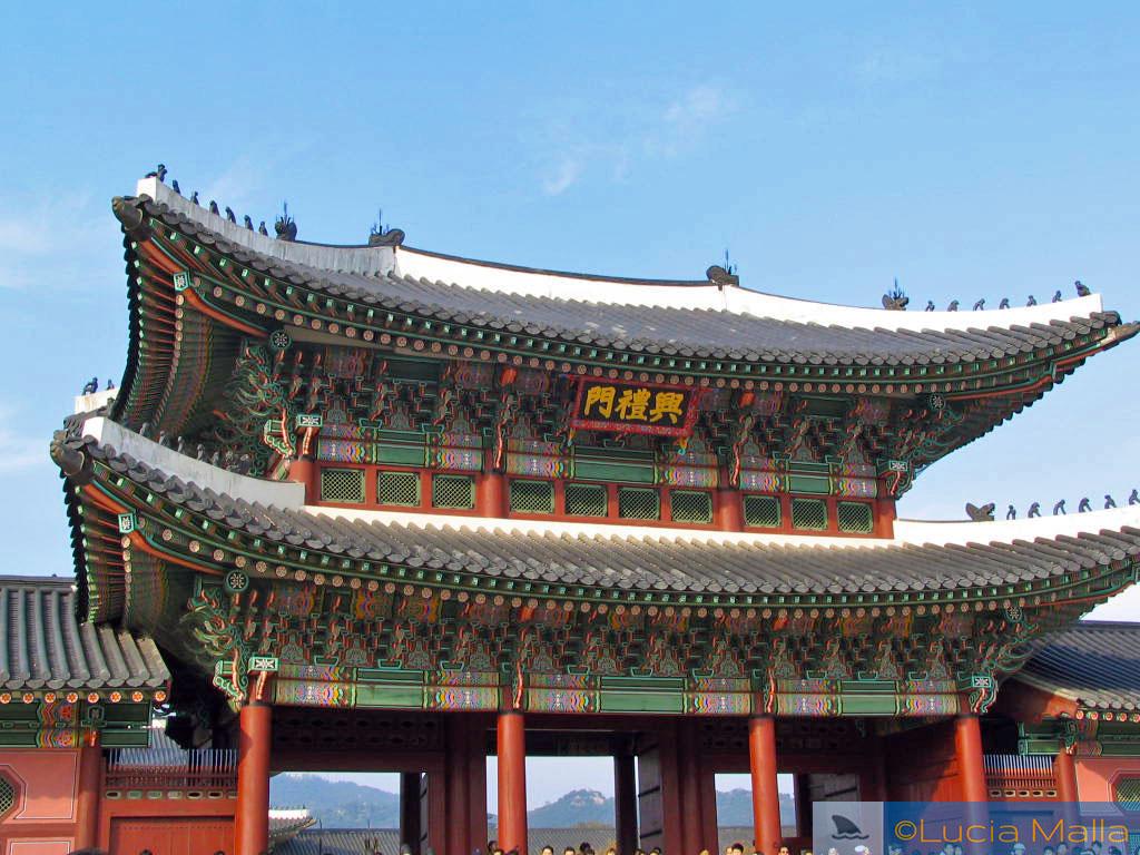 Palácio Gyeongbokgung - Seul - Coréia do Sul