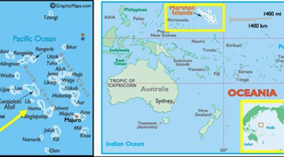 Atol de Namu, Ilhas Marshall, Pacífico Norte