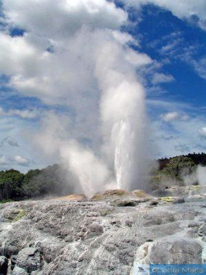 Fervendo em Rotorua