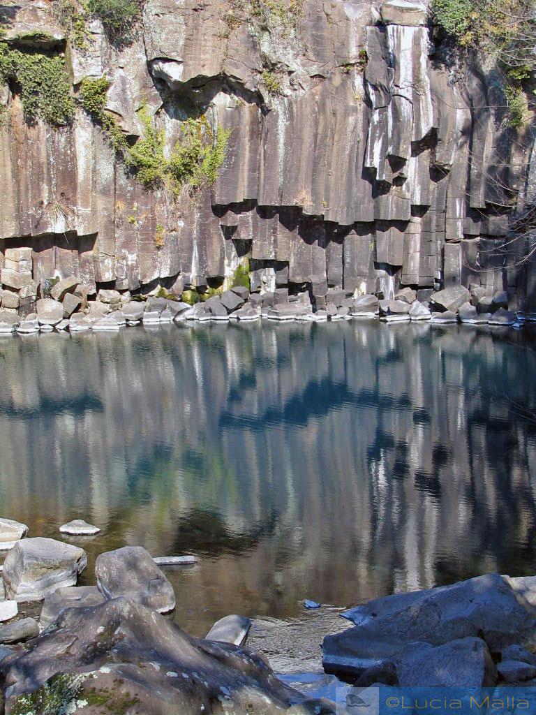 Cachoeira de Cheonjeyeon - Ilha de Jeju
