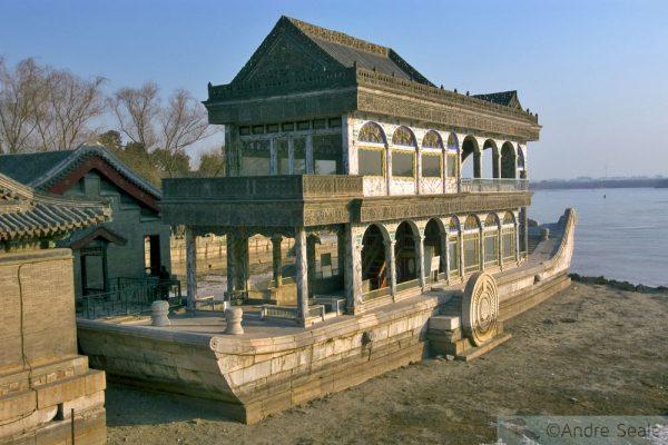China mãe - Beijing - Barco de Mármore