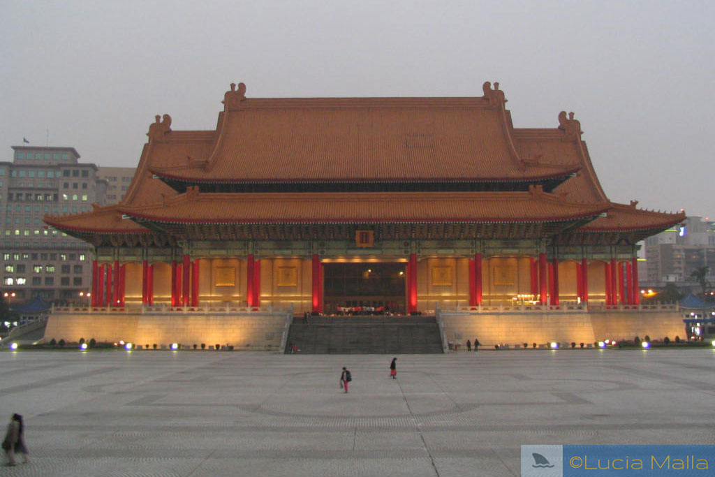 China rebelde - Roteiro por Taiwan - Opera House de Taipei
