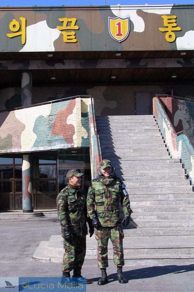 Observatório de Dora - Tour na Zona Desmilitarizada (DMZ) - entre Coréia do Sul e Coréia do norte