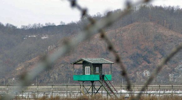 Na Zona Desmilitarizada (DMZ)
