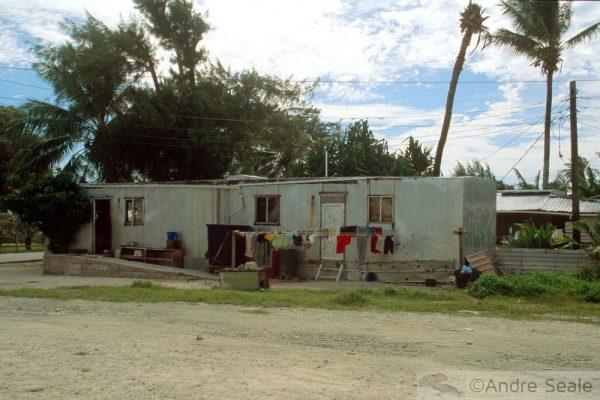 Majuro - Ilhas Marshall - casas