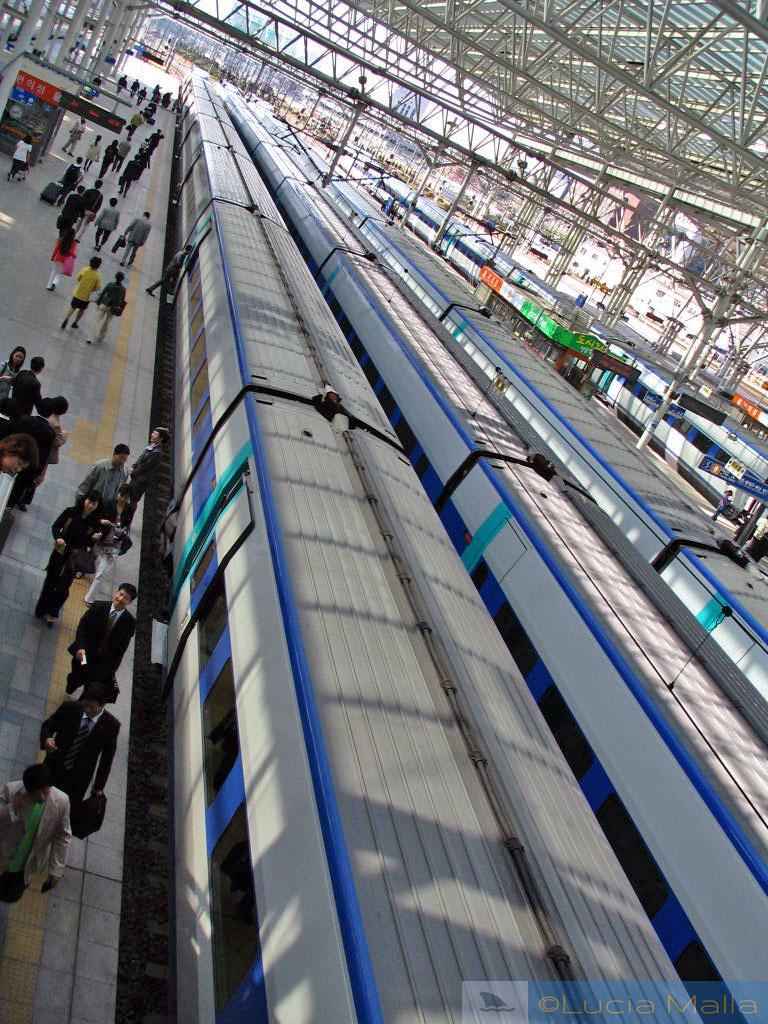 Estação de trem de Seul