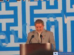 Visita do Lula à Coréia