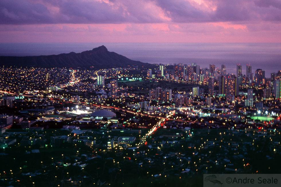 Rodando na ciência - Honolulu