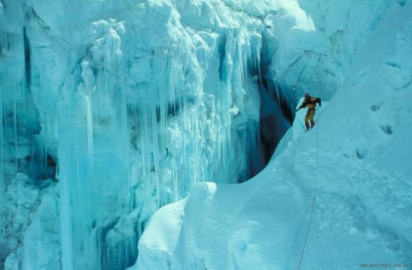 Escalada do Everest - Khumbu Icefall