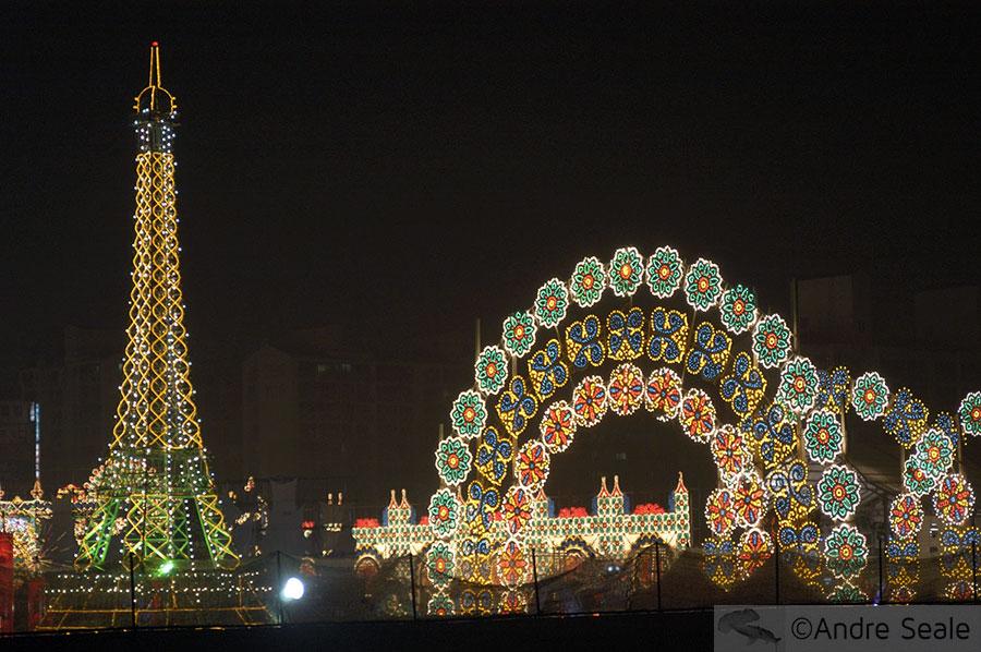 Festival de Luzes - Chuseok - Ação de Graças na Coréia do Sul