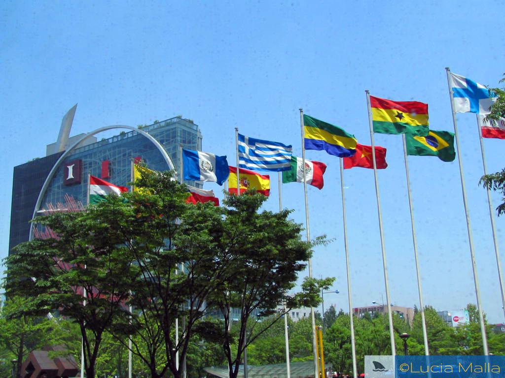 COEX Mall - congresso de ciência - Seul - Coréia do Sul