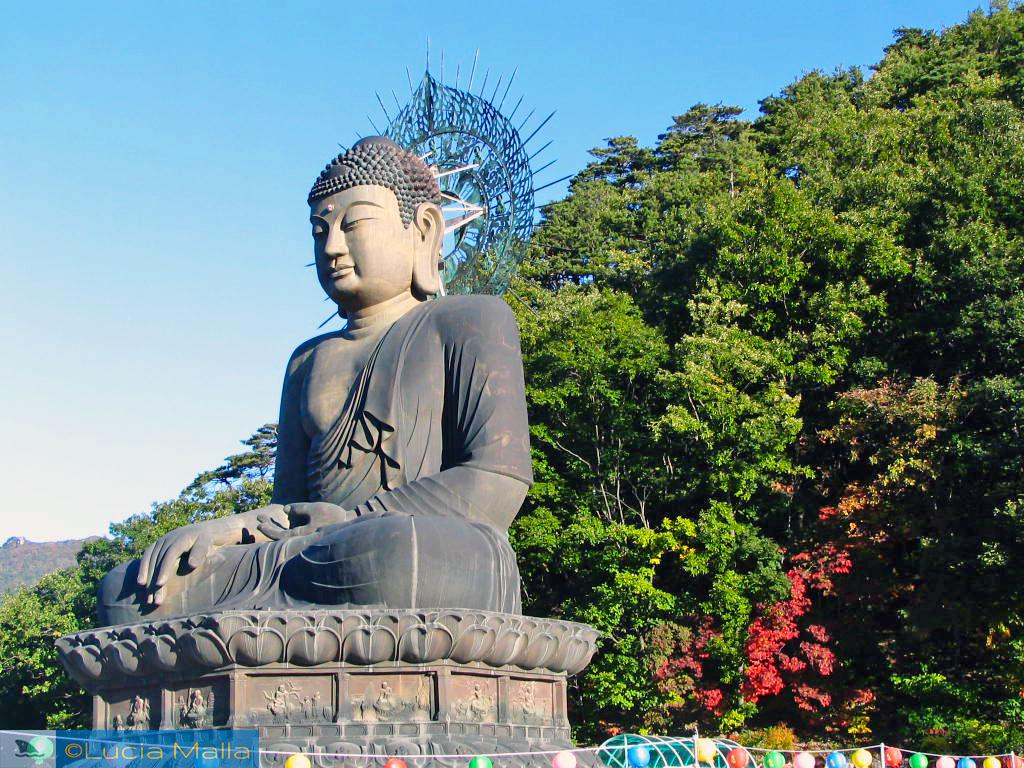 Parque Nacional de Seoraksan - Grande Buda