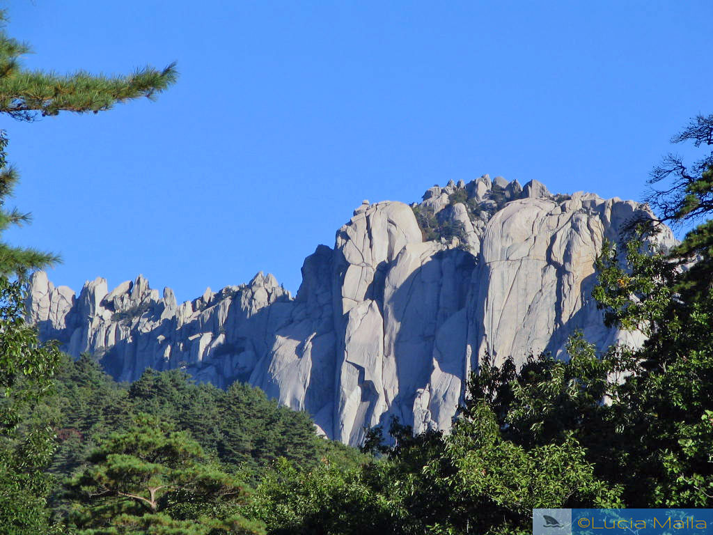 Parque Nacional de Seoraksan - Pedra de Ulseonbawui