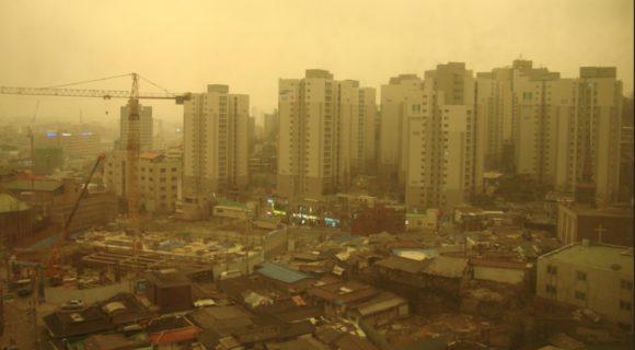 A poeira amarela, de novo