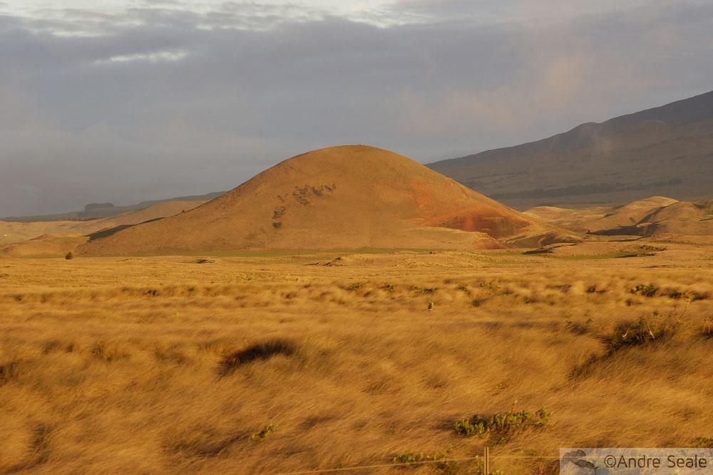 De Hilo a Kona - cones vulcânicos