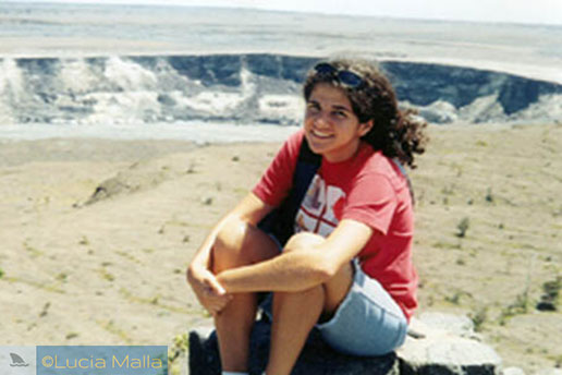Na cratera Halemaumau - Big Island - Havaí