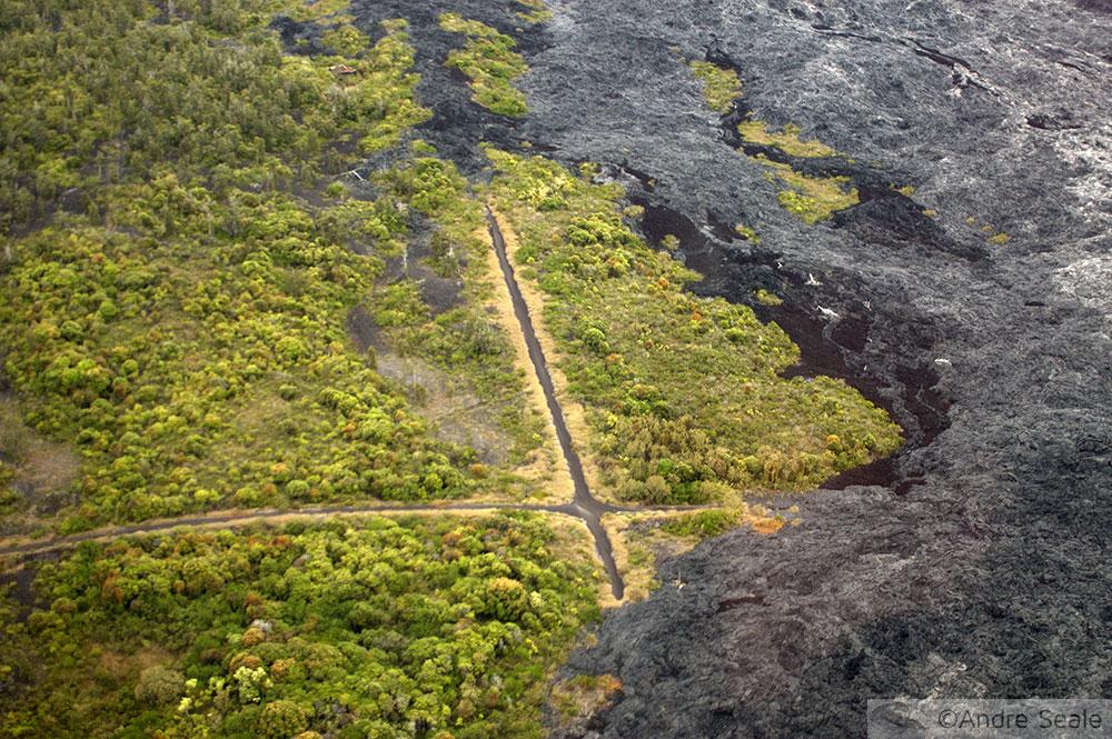 Os rios de fogo do Kilauea - Kalapana