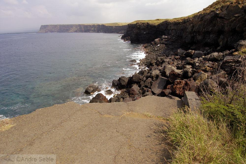 De Kona a Hilo - ponta sul da Big Island
