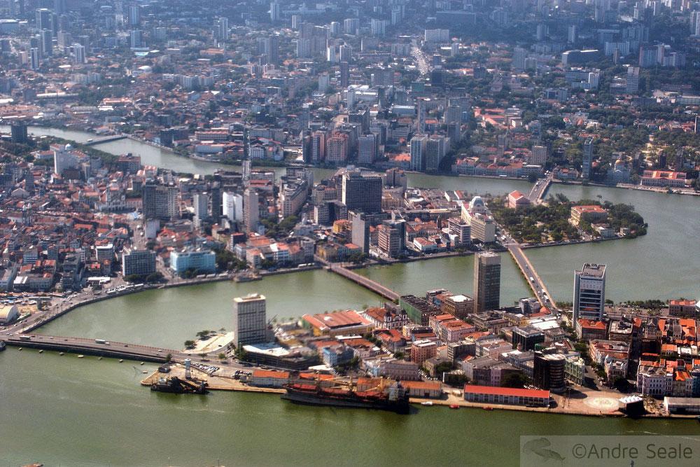 Vista aérea de Recife - Pernambuco