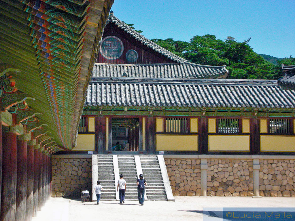 Pátio do Palácio Bulguksa - Gyeongju