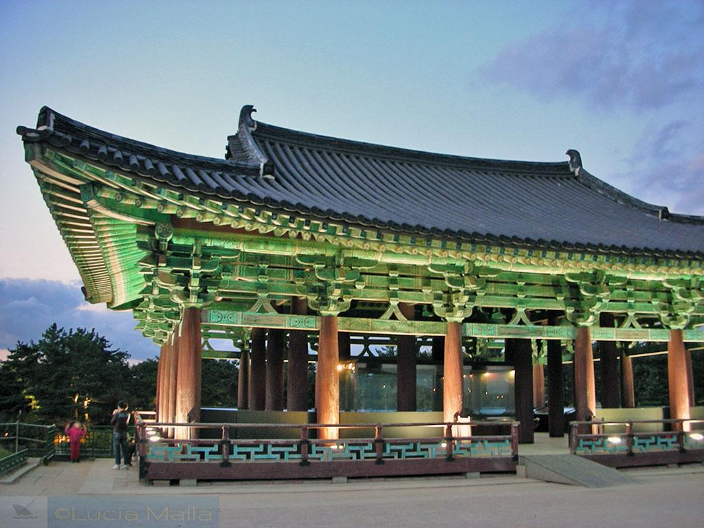 Pavilhão Silla - Parque Anapji - Gyeong-ju - Coréia do Sul
