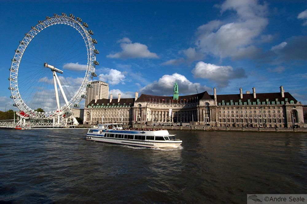 Uma tarde em Londres - London Eye