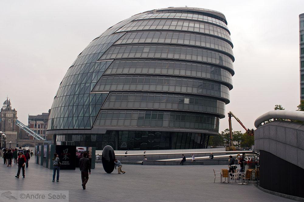 Pelas ruas de Londres - Prefeitura