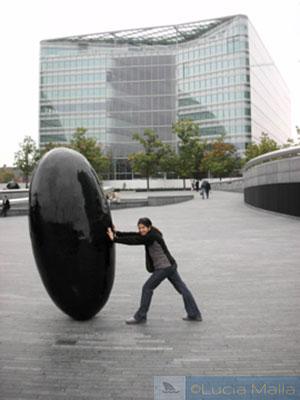Londres City hall - escultura