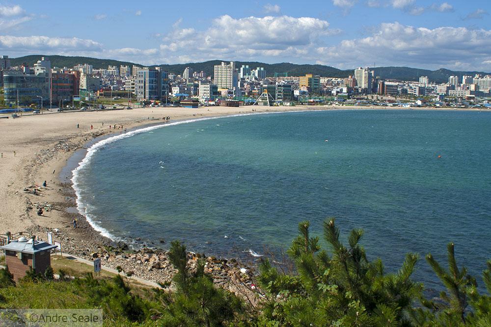 Praia de Ilsan - Roteiro em Ulsan - Coréia do Sul