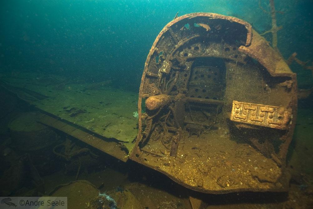 Naufrágios do Truk Lagoon - avião Zero