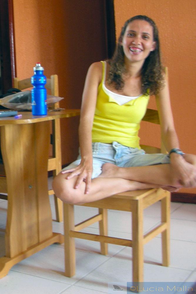 Entrevista viajante - Alline