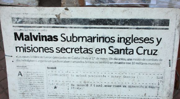 Sobre a Guerra das Malvinas