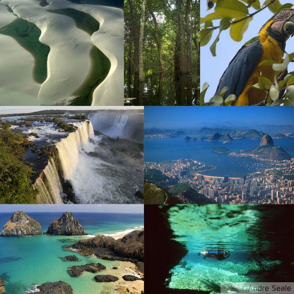As 7 maravilhas naturais do Brasil