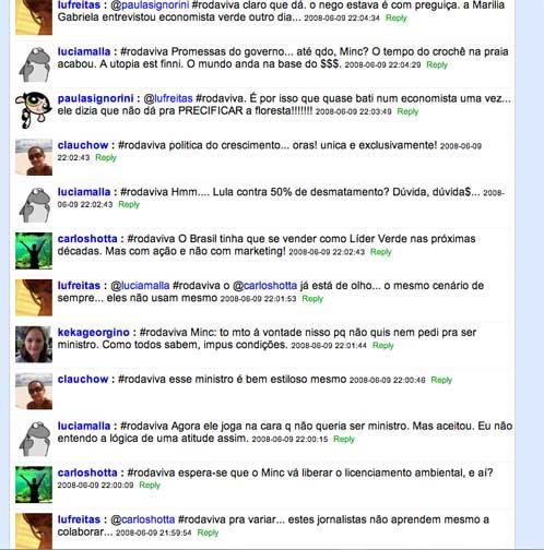Twittando o Roda Viva - TV Cultura