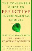 Opções ambientais efetivas para o consumidor