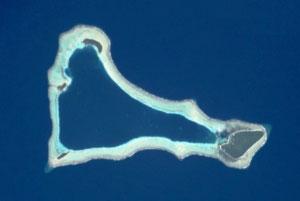 O atol de Sikaiana