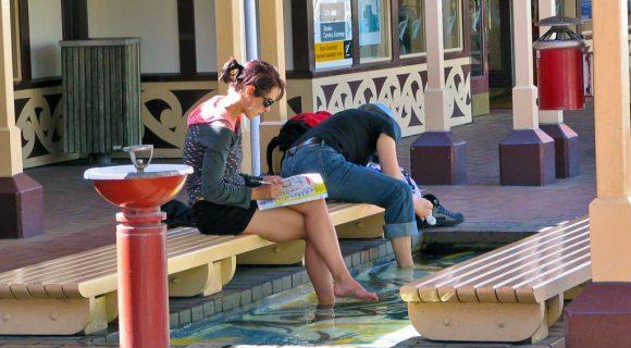 Lava-pés de Rotorua