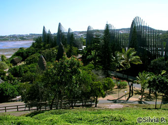 Centro Cultural Jean-Marie Tjibaou - Noumea - Nova Caledônia