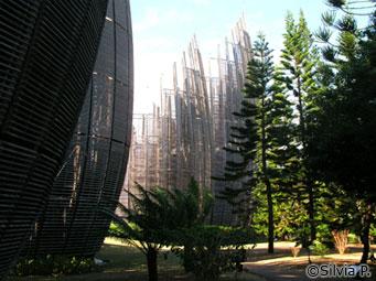 Centro cultural Jean-Marie Tjibaou - A vida na Nova Caledônia