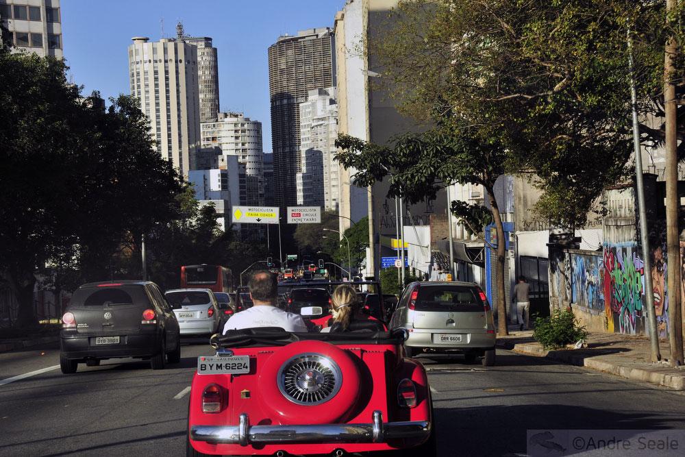 Lindo andar na cidade de São Paulo