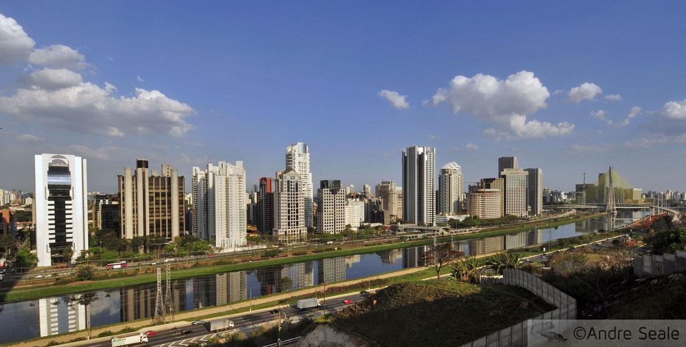 São Paulo dos cartões postais
