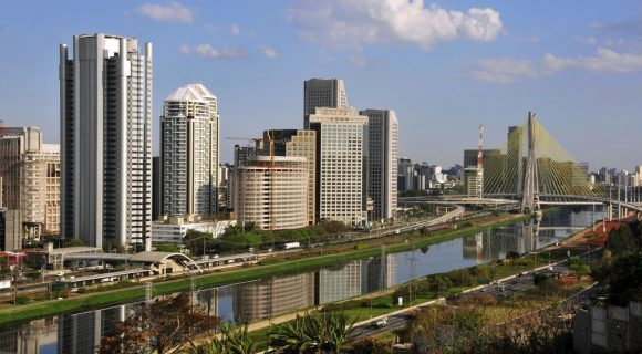 A São Paulo dos cartões postais