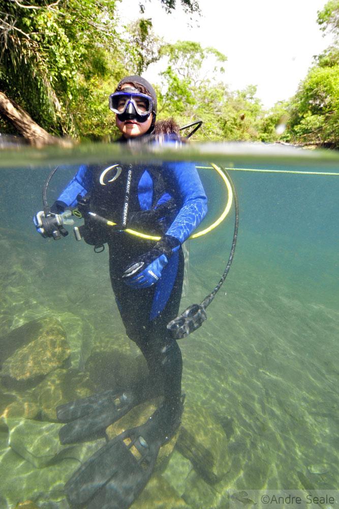 Mergulho autônomo no Rio da Prata - scuba dive