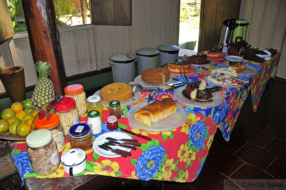 Gastronomia Estância Mimosa - lanchinho de fazenda