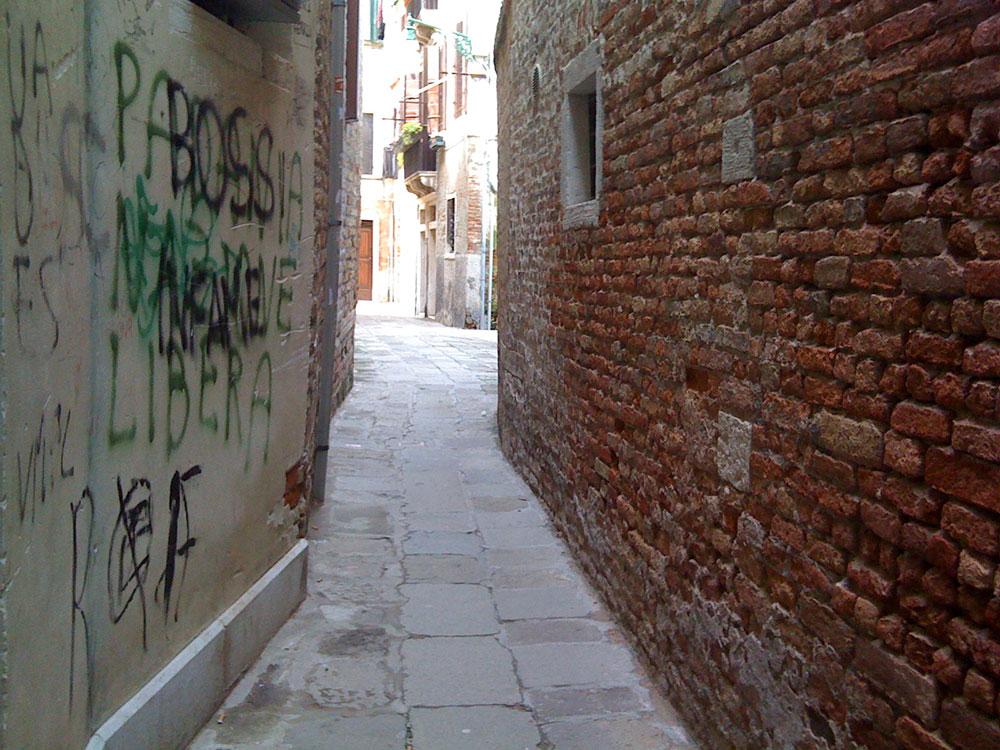 Viela em Veneza