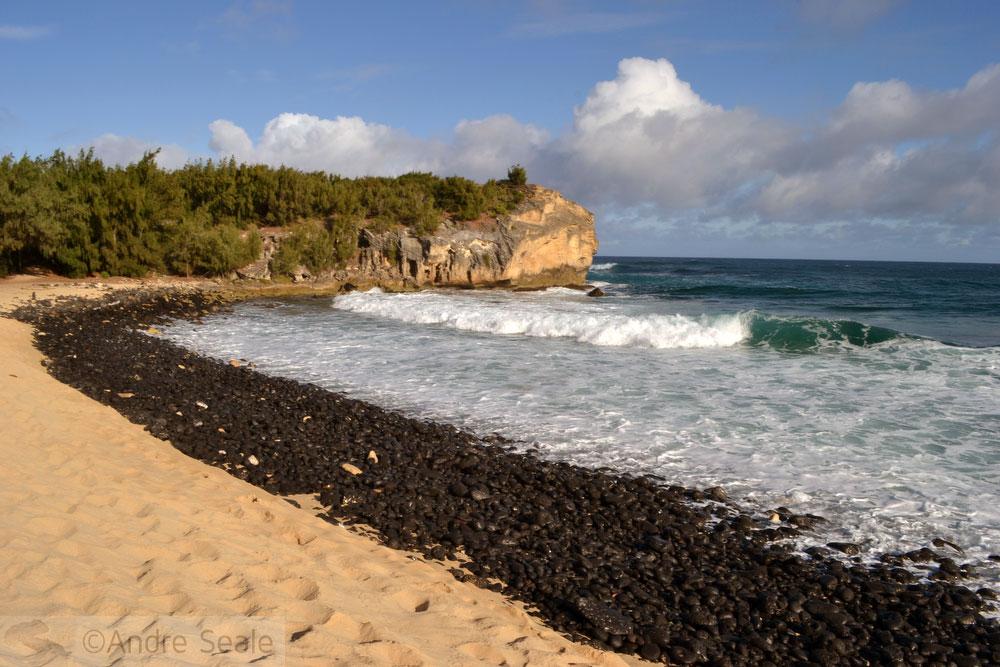 Melhores praias do Havaí - Shipwreck Beach