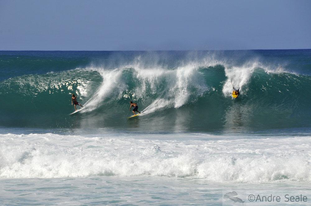 Melhores praias do Havaí - Pipeline