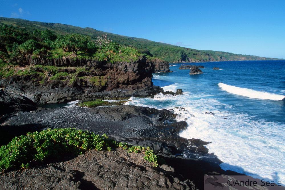 Sacred Pools - Hana coast - Maui