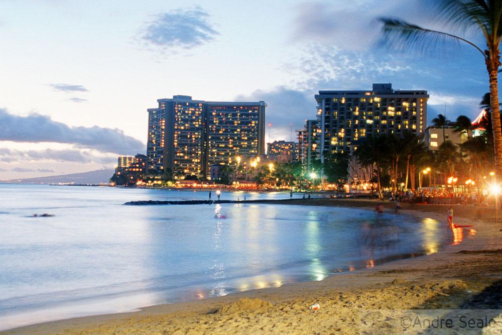 Melhores praias do Havaí - Waikiki